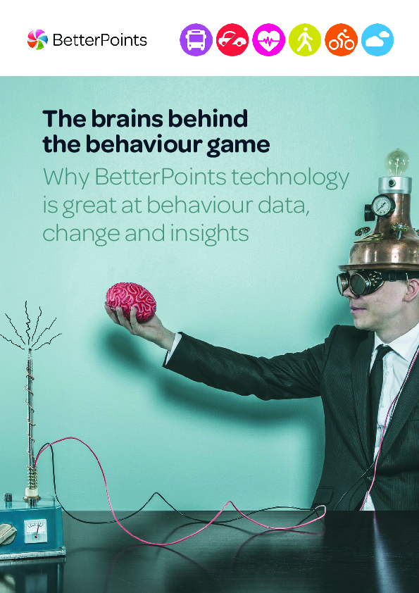 BetterPoints – The brains behind the behaviour game