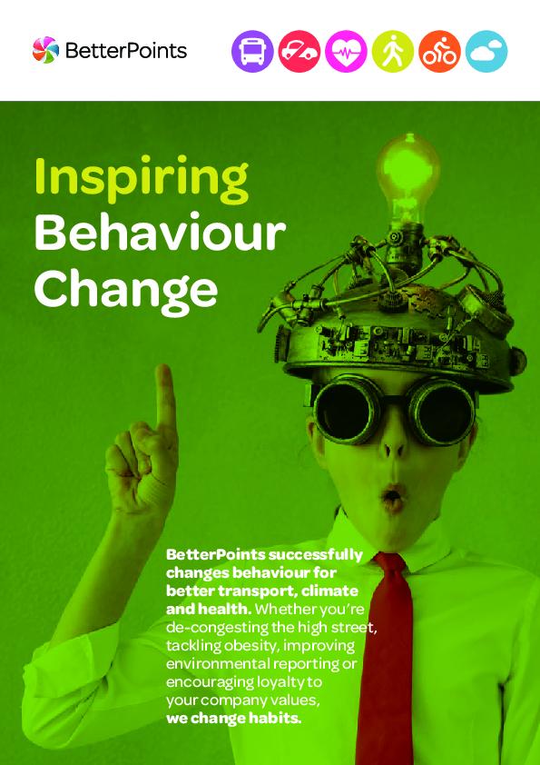 Inspiring Behaviour Change